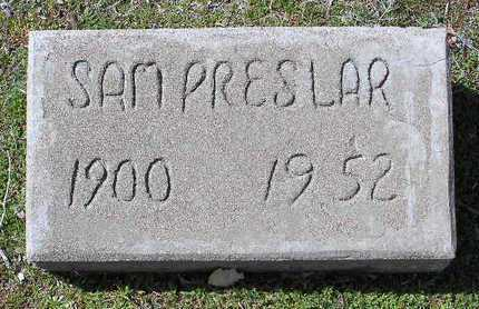 PRESLAR, SAMUEL TOLBERT - Yavapai County, Arizona   SAMUEL TOLBERT PRESLAR - Arizona Gravestone Photos