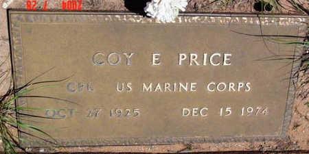 PRICE, COY E. - Yavapai County, Arizona | COY E. PRICE - Arizona Gravestone Photos