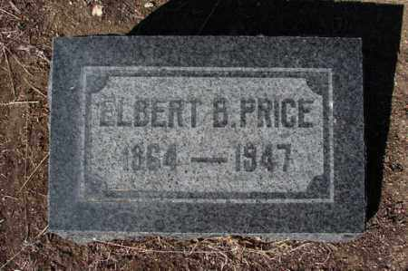 PRICE, ELBERT BUTLER - Yavapai County, Arizona | ELBERT BUTLER PRICE - Arizona Gravestone Photos