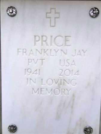 PRICE, FRANKLIN JAY - Yavapai County, Arizona   FRANKLIN JAY PRICE - Arizona Gravestone Photos