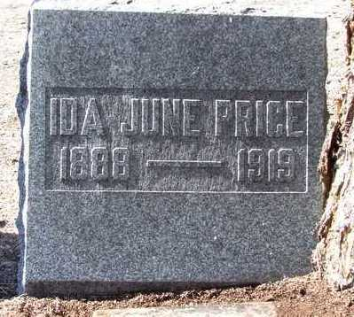 WILEY PRICE, IDA JUNE - Yavapai County, Arizona | IDA JUNE WILEY PRICE - Arizona Gravestone Photos