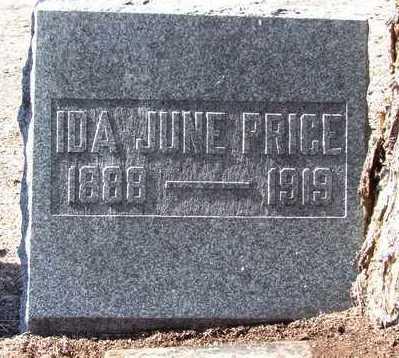 PRICE, IDA JUNE - Yavapai County, Arizona   IDA JUNE PRICE - Arizona Gravestone Photos