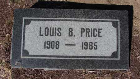 PRICE, LOUIS BARZILLIA - Yavapai County, Arizona | LOUIS BARZILLIA PRICE - Arizona Gravestone Photos