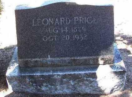 PRICE, GEORGE LEONARD - Yavapai County, Arizona   GEORGE LEONARD PRICE - Arizona Gravestone Photos