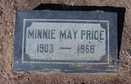 PRICE, MINNIE MAY - Yavapai County, Arizona | MINNIE MAY PRICE - Arizona Gravestone Photos