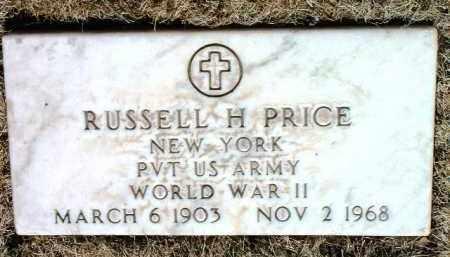 PRICE, RUSSELL H. - Yavapai County, Arizona | RUSSELL H. PRICE - Arizona Gravestone Photos