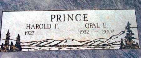 PRINCE, HAROLD FRANKLIN - Yavapai County, Arizona | HAROLD FRANKLIN PRINCE - Arizona Gravestone Photos