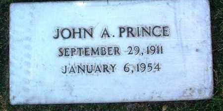 PRINCE, JOHN A. - Yavapai County, Arizona   JOHN A. PRINCE - Arizona Gravestone Photos