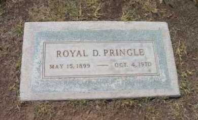 PRINGLE, ROYAL D. - Yavapai County, Arizona   ROYAL D. PRINGLE - Arizona Gravestone Photos