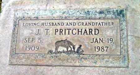 PRITCHARD, JAMES T. - Yavapai County, Arizona | JAMES T. PRITCHARD - Arizona Gravestone Photos