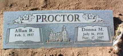 STRICKLAND PROCTOR, DONNA MAY - Yavapai County, Arizona | DONNA MAY STRICKLAND PROCTOR - Arizona Gravestone Photos