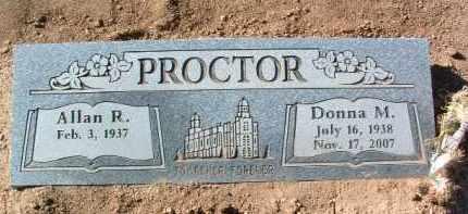 PROCTOR, ALLAN R. - Yavapai County, Arizona | ALLAN R. PROCTOR - Arizona Gravestone Photos