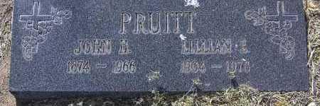 PRUITT, LILLIAN E. - Yavapai County, Arizona | LILLIAN E. PRUITT - Arizona Gravestone Photos