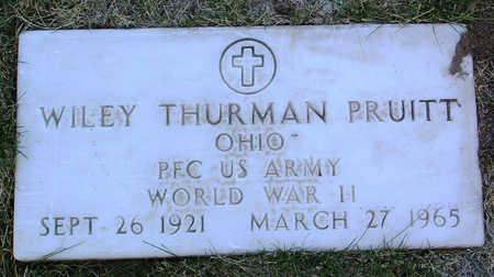 PRUITT, WILEY THURMAN - Yavapai County, Arizona   WILEY THURMAN PRUITT - Arizona Gravestone Photos