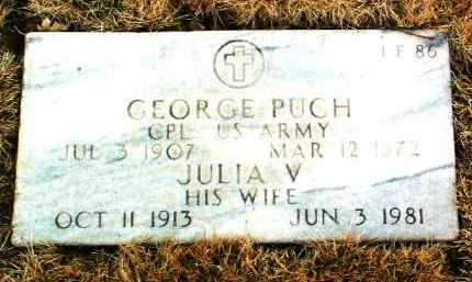 PUGH, GEORGE - Yavapai County, Arizona | GEORGE PUGH - Arizona Gravestone Photos