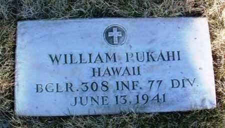 PUKAHI, WILLIAM - Yavapai County, Arizona | WILLIAM PUKAHI - Arizona Gravestone Photos