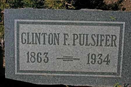 PULSIFER, CLINTON FORREST - Yavapai County, Arizona | CLINTON FORREST PULSIFER - Arizona Gravestone Photos