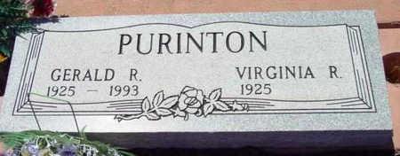 PURINTON, GERALD RUSSELL - Yavapai County, Arizona | GERALD RUSSELL PURINTON - Arizona Gravestone Photos