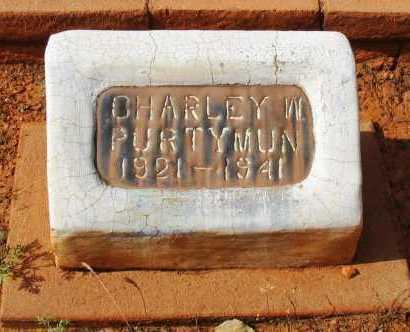 PURTYMUN, CHARLEY WESLEY - Yavapai County, Arizona   CHARLEY WESLEY PURTYMUN - Arizona Gravestone Photos