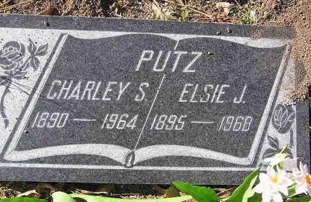 PUTZ, CHARLEY SYLVESTER - Yavapai County, Arizona | CHARLEY SYLVESTER PUTZ - Arizona Gravestone Photos