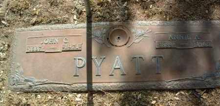 PYATT, ANNIE AUGUSTA - Yavapai County, Arizona | ANNIE AUGUSTA PYATT - Arizona Gravestone Photos