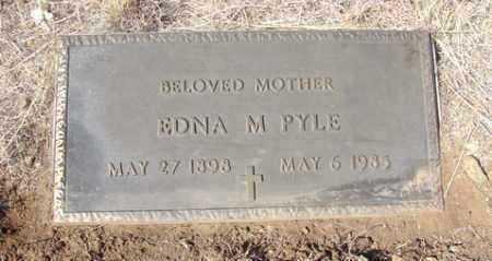 PYLE, EDNA M. - Yavapai County, Arizona | EDNA M. PYLE - Arizona Gravestone Photos