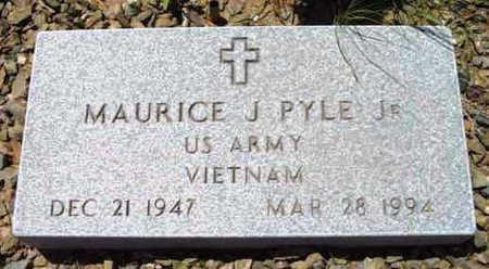 PYLE, MAURICE J., JR. - Yavapai County, Arizona   MAURICE J., JR. PYLE - Arizona Gravestone Photos