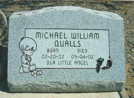 QUALLS, MICHAEL WILLIAM - Yavapai County, Arizona | MICHAEL WILLIAM QUALLS - Arizona Gravestone Photos