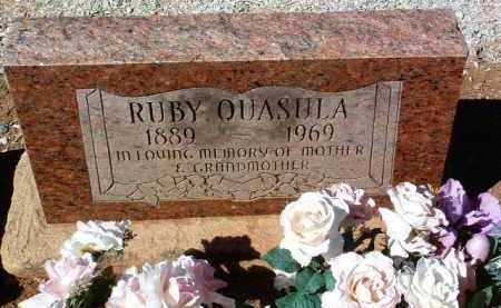 QUASULA, RUBY - Yavapai County, Arizona | RUBY QUASULA - Arizona Gravestone Photos
