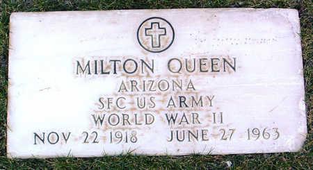 QUEEN, MILTON - Yavapai County, Arizona | MILTON QUEEN - Arizona Gravestone Photos