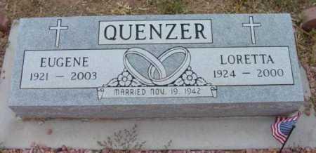 QUENZER, EUGENE - Yavapai County, Arizona   EUGENE QUENZER - Arizona Gravestone Photos