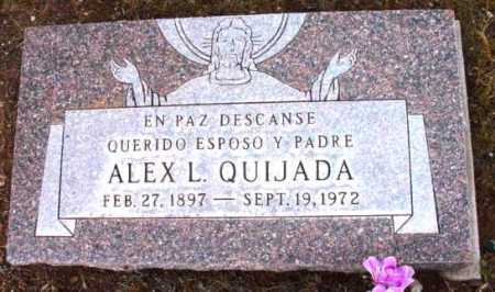 QUIJADA, ALEX L. - Yavapai County, Arizona | ALEX L. QUIJADA - Arizona Gravestone Photos