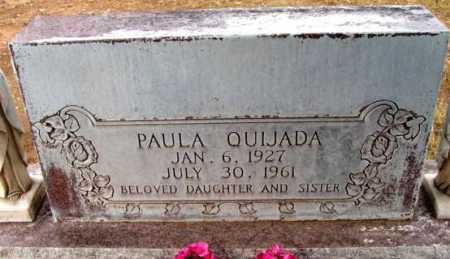 QUIJADA, PAULA - Yavapai County, Arizona | PAULA QUIJADA - Arizona Gravestone Photos