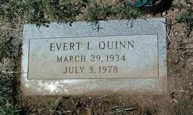 QUINN, EVERT L. - Yavapai County, Arizona | EVERT L. QUINN - Arizona Gravestone Photos