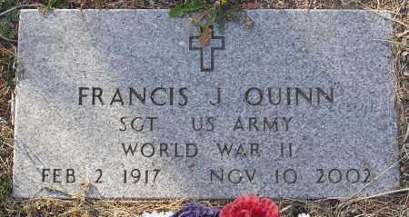 QUINN, FRANCIS J. - Yavapai County, Arizona   FRANCIS J. QUINN - Arizona Gravestone Photos