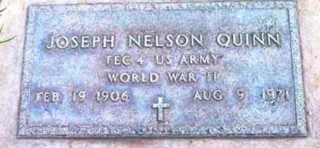 QUINN, JOSEPH NELSON - Yavapai County, Arizona   JOSEPH NELSON QUINN - Arizona Gravestone Photos