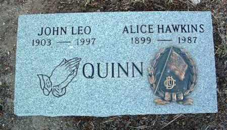 HAWKINS QUINN, ALICE - Yavapai County, Arizona | ALICE HAWKINS QUINN - Arizona Gravestone Photos
