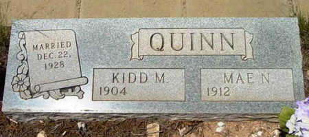 QUINN, NANNIE MAE - Yavapai County, Arizona | NANNIE MAE QUINN - Arizona Gravestone Photos