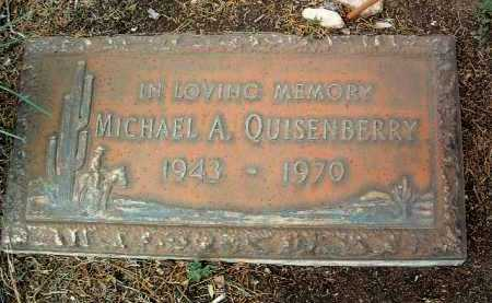QUISENBERRY, MICHAEL A. - Yavapai County, Arizona | MICHAEL A. QUISENBERRY - Arizona Gravestone Photos