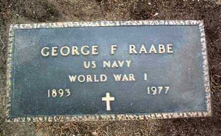 RAABE, GEORGE FRITZ - Yavapai County, Arizona | GEORGE FRITZ RAABE - Arizona Gravestone Photos