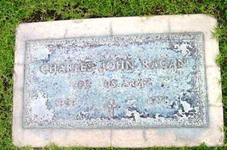 RAGAN, CHARLES JOHN - Yavapai County, Arizona   CHARLES JOHN RAGAN - Arizona Gravestone Photos
