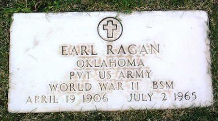 RAGAN, EARL - Yavapai County, Arizona | EARL RAGAN - Arizona Gravestone Photos