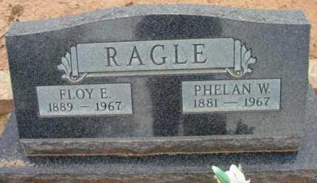 RAGLE, PHELAN W. - Yavapai County, Arizona | PHELAN W. RAGLE - Arizona Gravestone Photos