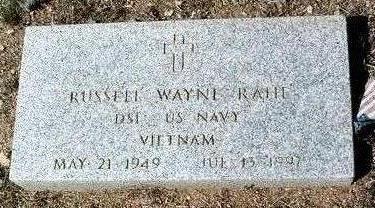 RAHE, RUSSELL WAYNE - Yavapai County, Arizona   RUSSELL WAYNE RAHE - Arizona Gravestone Photos