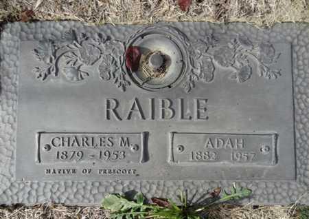 RAIBLE, CHARLES MICHAEL - Yavapai County, Arizona | CHARLES MICHAEL RAIBLE - Arizona Gravestone Photos