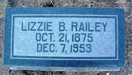 BARTON RAILEY, ELIZABETH B. - Yavapai County, Arizona | ELIZABETH B. BARTON RAILEY - Arizona Gravestone Photos