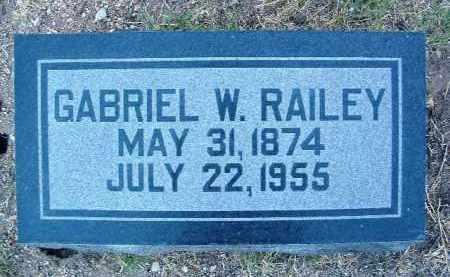 RAILEY, GABRIEL WEBSTER - Yavapai County, Arizona | GABRIEL WEBSTER RAILEY - Arizona Gravestone Photos