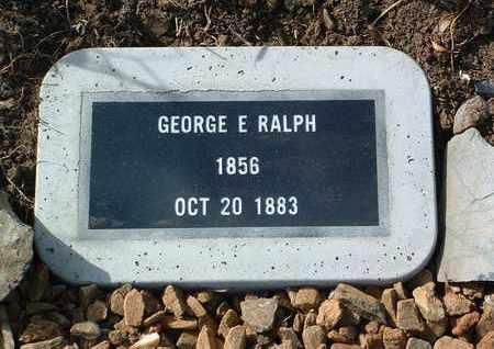 RALPH, GEORGE E. - Yavapai County, Arizona | GEORGE E. RALPH - Arizona Gravestone Photos