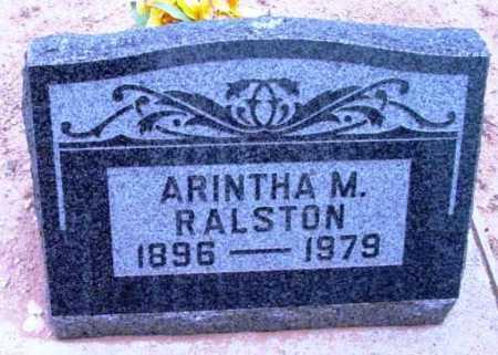 RALSTON, ARINTHA MABEL - Yavapai County, Arizona | ARINTHA MABEL RALSTON - Arizona Gravestone Photos