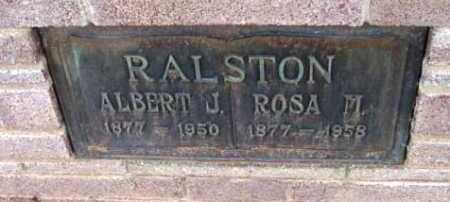 RALSTON, ROSA MABEL - Yavapai County, Arizona | ROSA MABEL RALSTON - Arizona Gravestone Photos